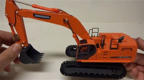 doosan dx lc excavator review youtube