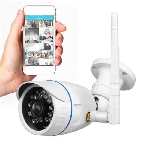 wireless outdoor ip security camera weatherproof hd p