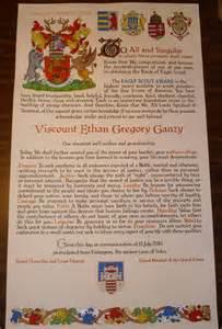Letter Award Certificates