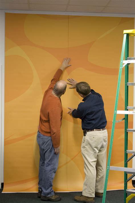 Installing Custom Wallpaper Megaprintinc