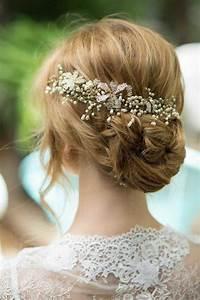 80 idees pour le chignon mariage archzinefr With bijoux chignon mariage