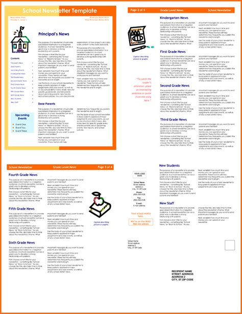 classroom newsletter templates   printable
