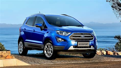 ford ecosport titanium 2018 news ford australia reveals significantly updated