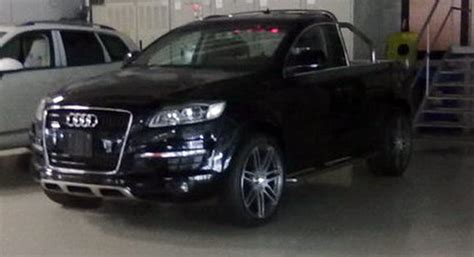 Audi Truck by U Audi Q7 Truck Is The Real Deal Carscoops