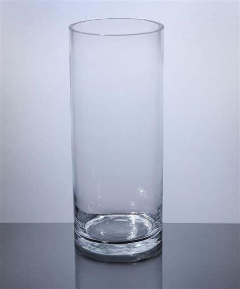 cylinder glass vases pc512 cylinder glass vase 5 quot x 12 quot 6 p c cylinder glass