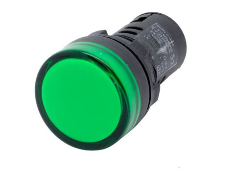 white led lights green wire l22 ati green led pilot panel indicator light 22mm 12v dc