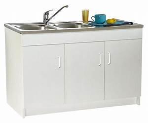 Meuble Sous Evier 120 : meubles bas de cuisine comparez les prix pour ~ Nature-et-papiers.com Idées de Décoration