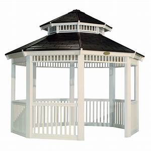 25 cool gazebos from lowes pixelmaricom for Cupolas for sale lowes