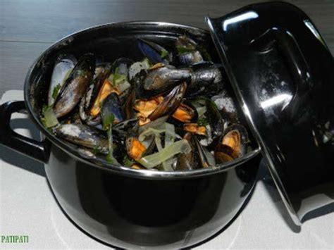 recettes de moules marinieres