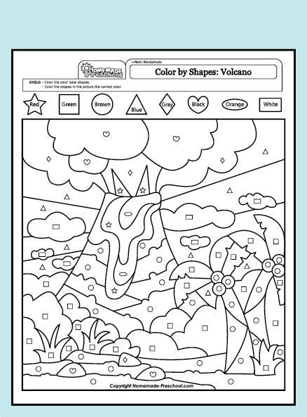 volcanoes worksheets for worksheets for all