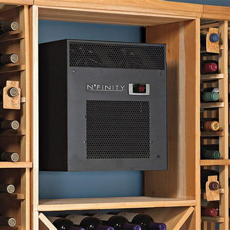 n finity 3000 wine cellar cooling unit max room size
