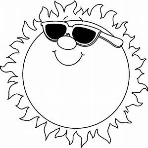 Summer Clip Art Black And White - ClipArt Best