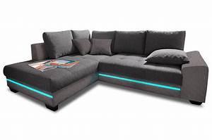Sofa Mit Led Und Sound : polsterecke nikita mit bett und led sofas zum halben preis ~ Orissabook.com Haus und Dekorationen