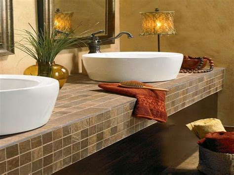 bath countertop ideas images  pinterest
