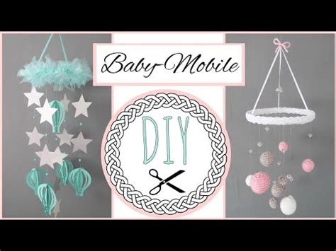 Mobile Selber Machen Anleitung by Diy Mobile F 220 Rs Babyzimmer Anleitung Zum Selber Machen