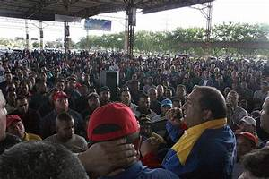 Workers in Venezuelan State Companies Demand Improved Pay ...
