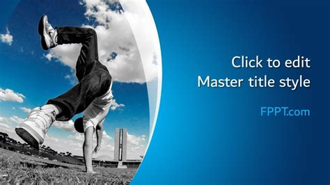 Free Parkour PowerPoint Template - Free PowerPoint Templates