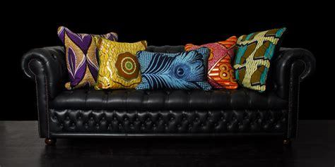 gros coussins canapé décoration d 39 intérieur ethnique waxindeco linge de