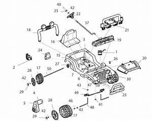 Power Wheels Diego Jeep Wrangler