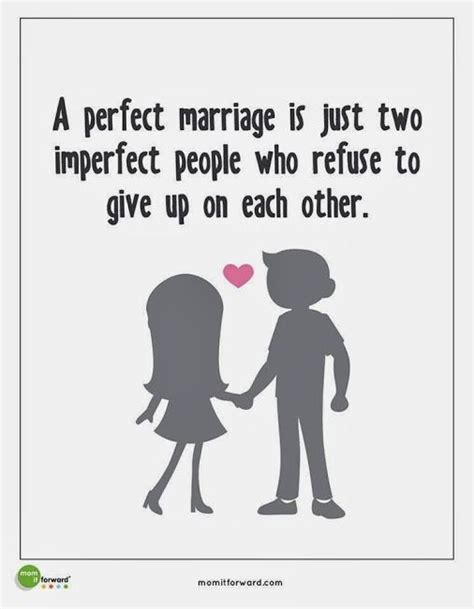 perfect marriage    imperfect people