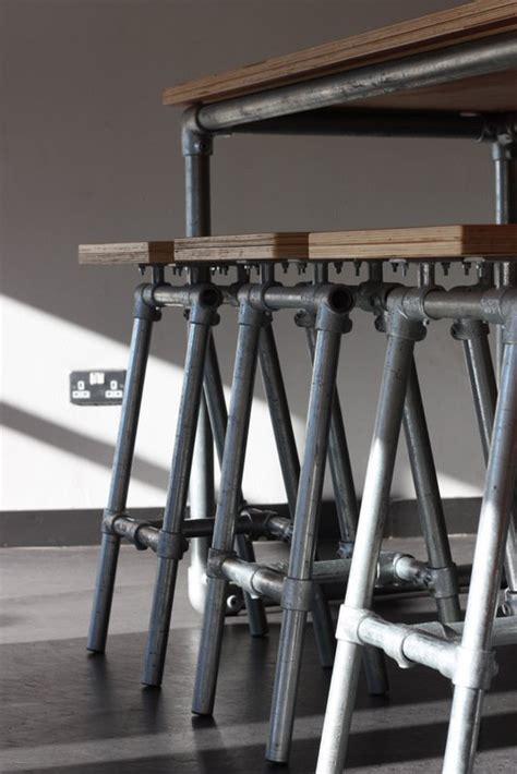 creative bed ideas diy galvanized pipe clothes rack diy galvanized pipe bar stools interior
