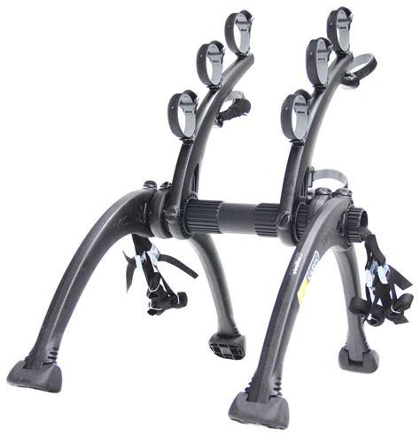 saris bike rack saris bones 3 bike carrier adjustable arms trunk mount