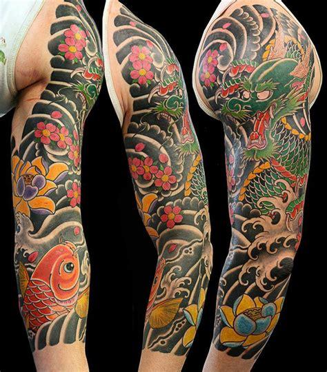japanese dragon tattoo sleeve google search tattoo