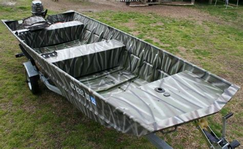 Aluminum Jon Boat Trailers by Camouflage 16 Jon Boat Motor And Trailer The Hull