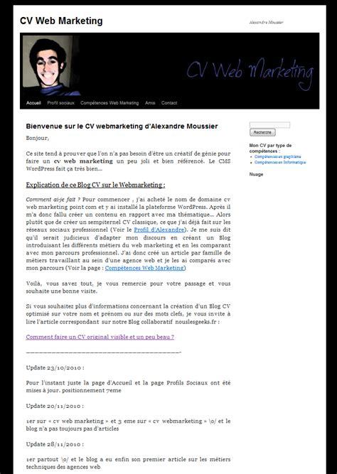 Comment Préparer Un Cv by Logiciel Pour Faire Un Cv Original Andallthingsdelicious