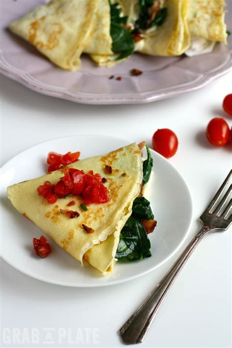 spinach bacon and brie breakfast cr 234 pes