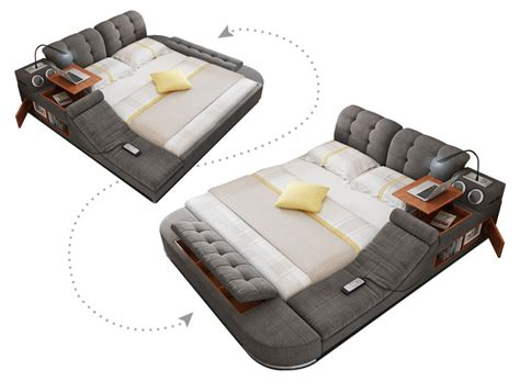 ultimate bed  integrated massage chair speakers