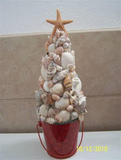 seashell christmas tree  ladyb  splitcoaststampers