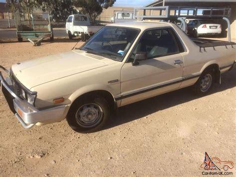 subaru ute subaru brumby 4x4 1992 ute manual 1 8l carb seats in sa