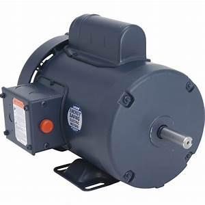 Leeson Pressure Washer Duty Electric Motor  U2014 3  4 Hp  1725