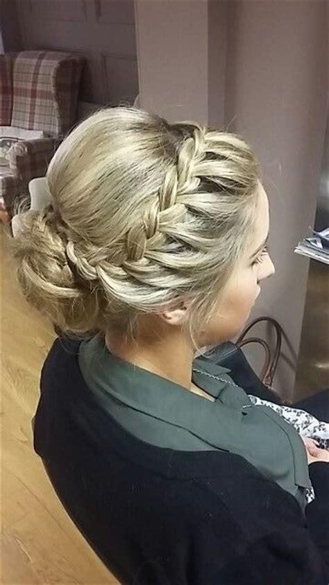 braid upstyle upstyles  short hair bridemaids hairstyles