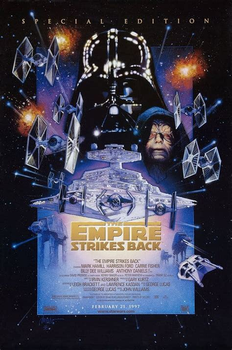 The reported $4.4 billion box office revenue generated by the main cinematic releases alone ain't too shabby either! Best Star Wars Posters from All Episodes