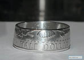 Half Dollar Coin Ring