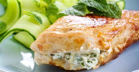 cuisine filet de poulet recette de filets de poulet farcis au basilic et fromage
