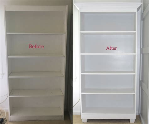 cheap bookcase makeover  doesnt  cheap  brick home