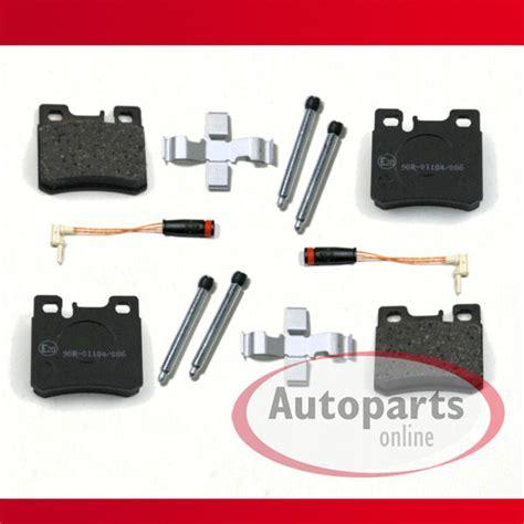 AutopartsOnline Set 60000125 Bremsbeläge Bremsklötze