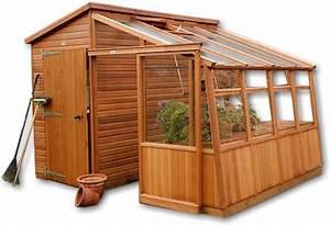 Malvern Garden Retreat Cedar Greenhouse and Potting Shed