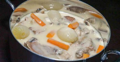 cuisiner une blanquette de veau blanquette de veau à l 39 ancienne recette de la blanquette