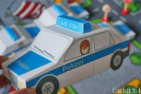 einladungen zum polizei geburtstag handmade kultur