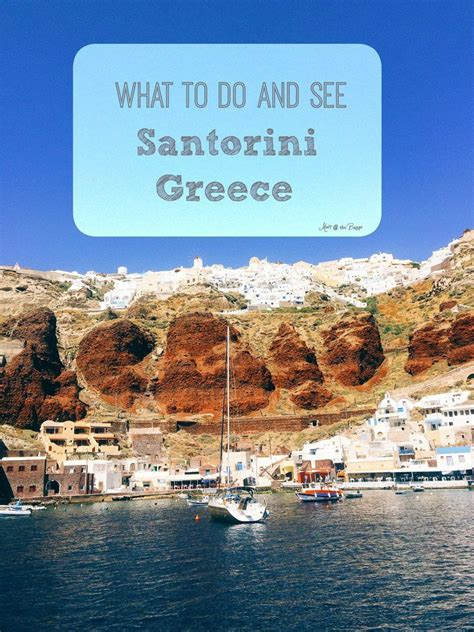 Honeymoon What To Do And See In Santorini Greece Travel