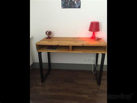 bureau palette bureau palette pieds métal par zora