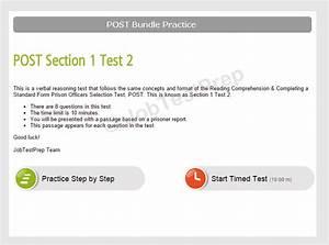 Reading Comprehension Post Test Preparation