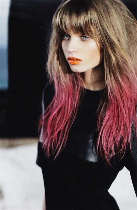 Diy Temporary Dip Dye Hair Studded Dreams