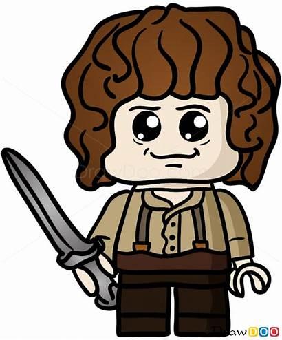 Lego Chibi Draw Bilbo Step Drawdoo Webmaster