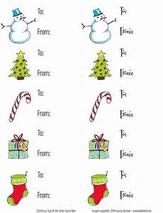 Dabbled   Download: Set of Christmas Gift Tags!