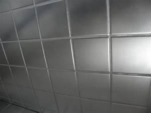 Peinture Pour Faience : peinture carrelage cuisine inox ~ Premium-room.com Idées de Décoration